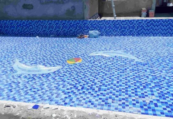 Thi công hồ bơi Trường mầm non Sunny - Biên Hoà